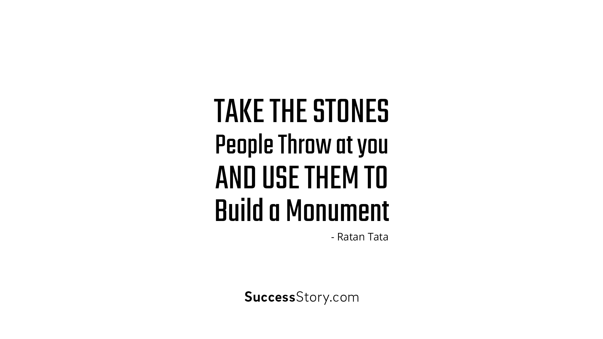 Take the stone