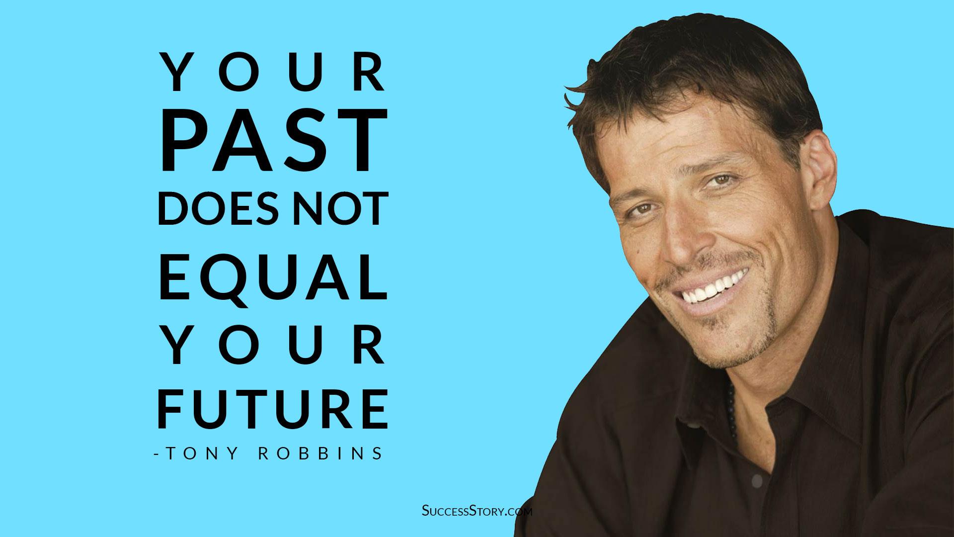 Tony Robbins Quotes on Future