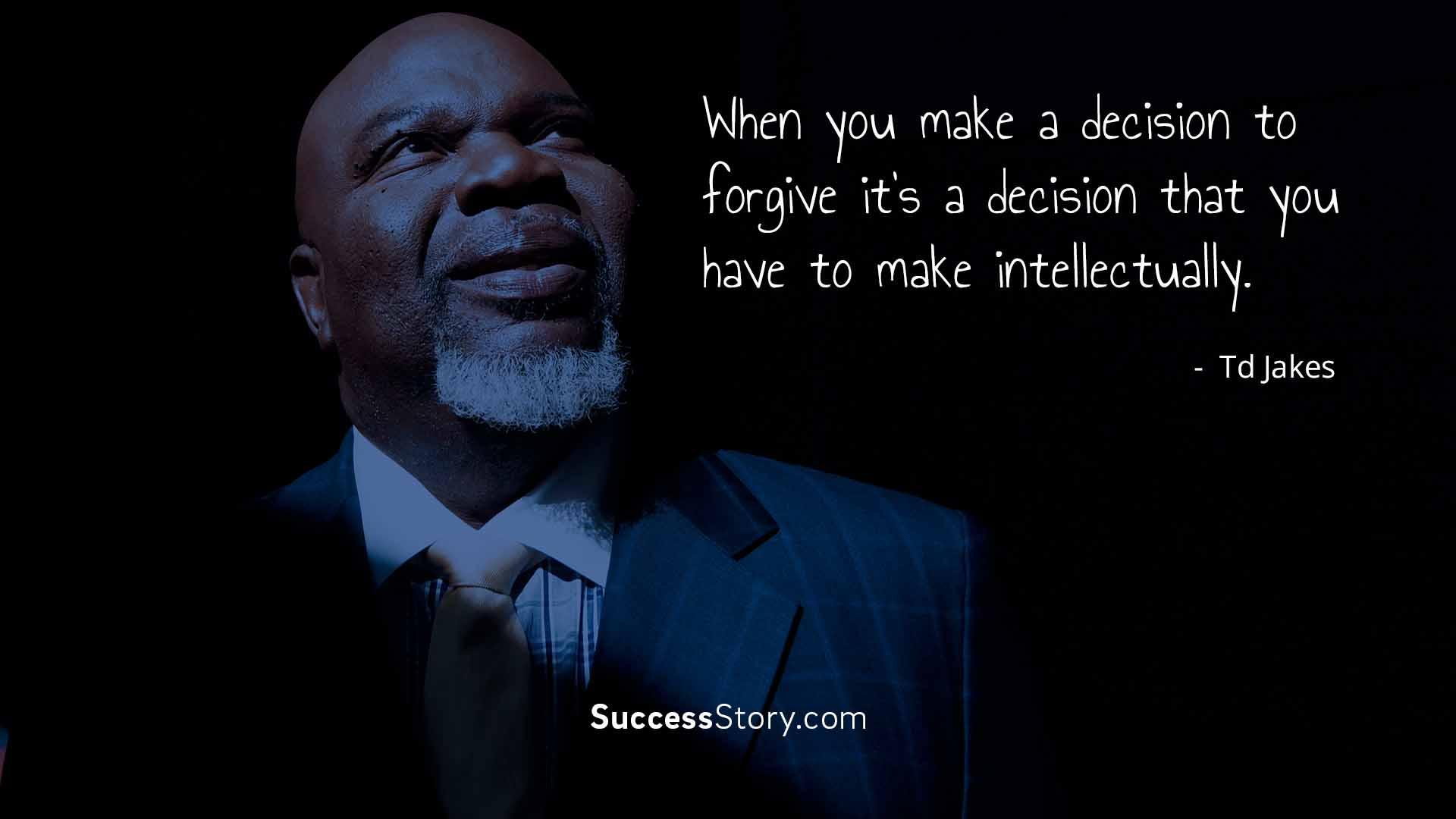 When you make a decision