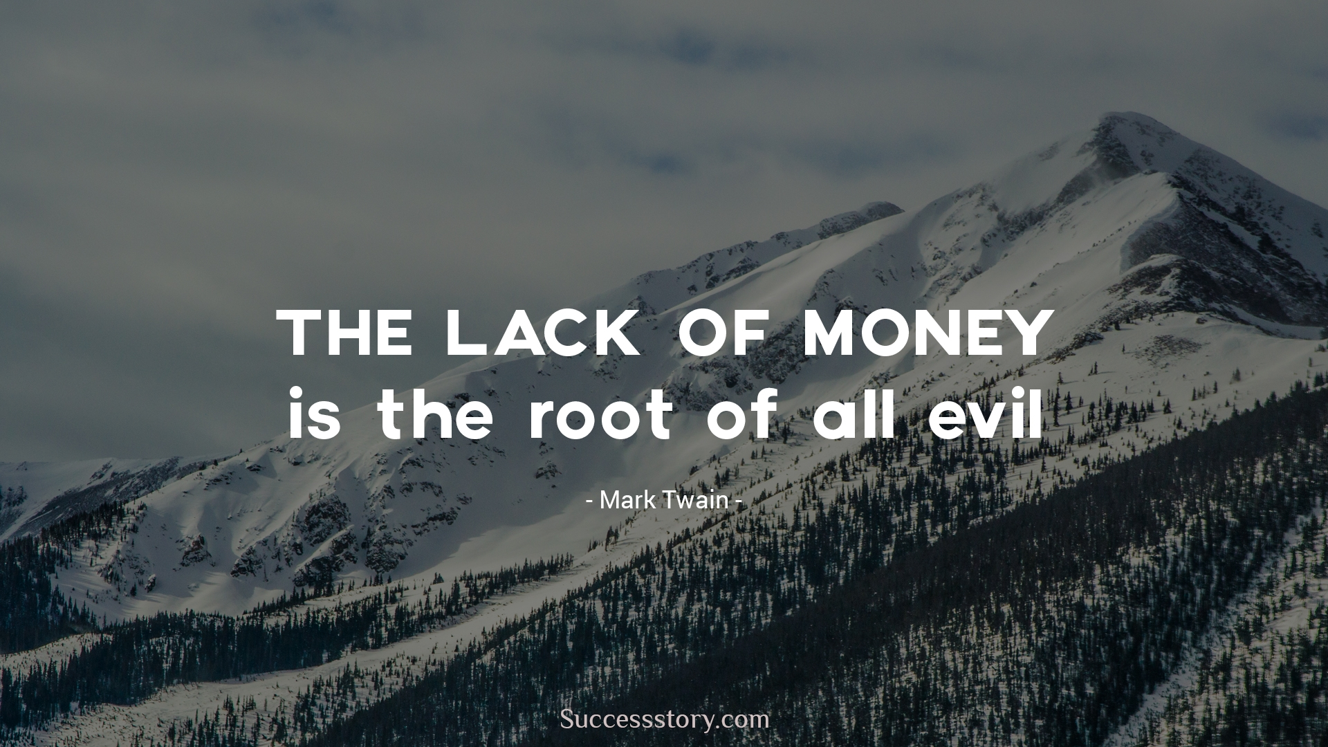 essay on lack of money is the root of all evil Love of money is a recognized evil and it is born of an excess desire for it people want money f.