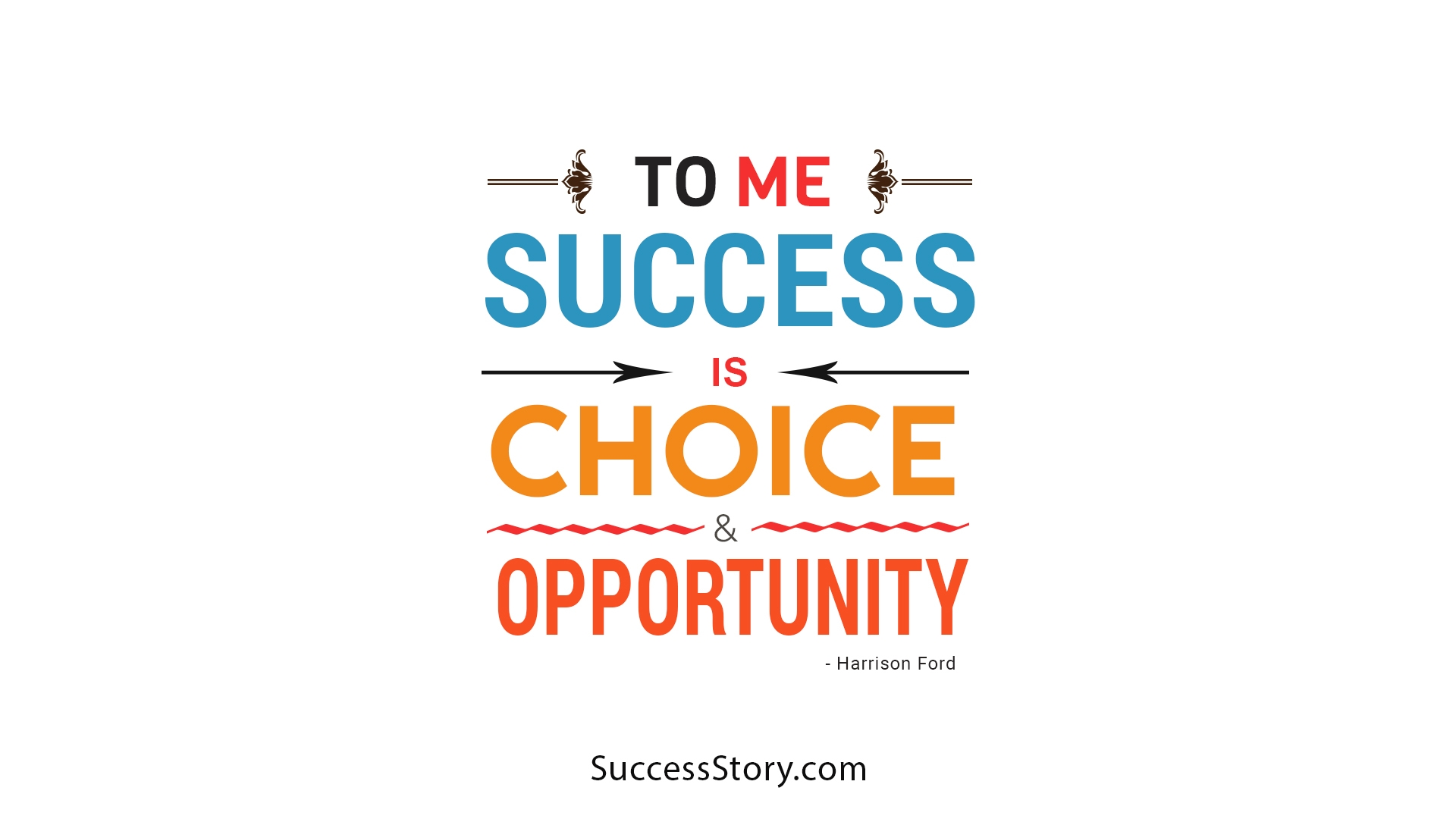 to me success