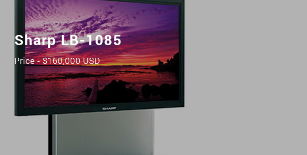 Most Expensive Televisions