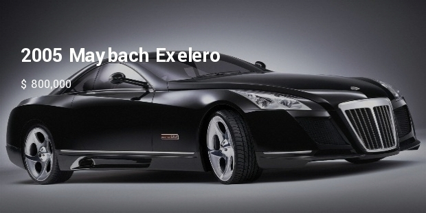 Most Expensive Maybach Cars