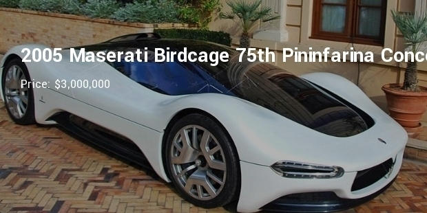 Most Expensive Maserati Cars