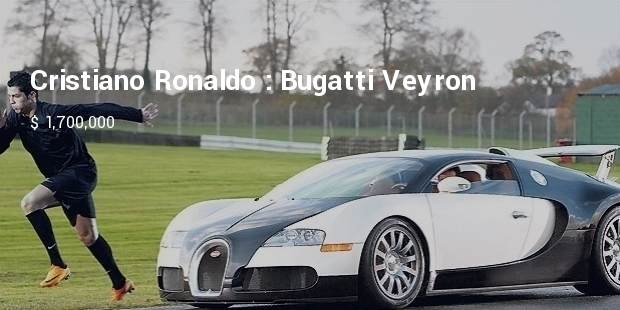 Most Expensive Footballers Cars
