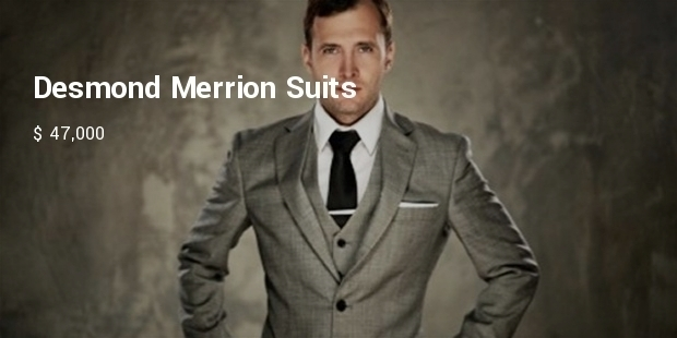 Most Expensive Men's Clothing in the World