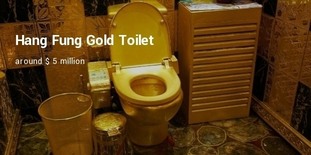 Most Expensive Commodes