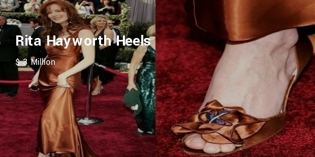 Most Expensive Celebrity Footwear