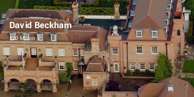 Most Expensive Footballer Homes