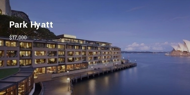 Most Expensive Hotels in Sydney