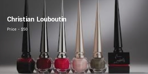 10 Most Expensive Nail Polish Brands