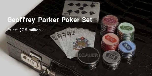Most Expensive Poker Set
