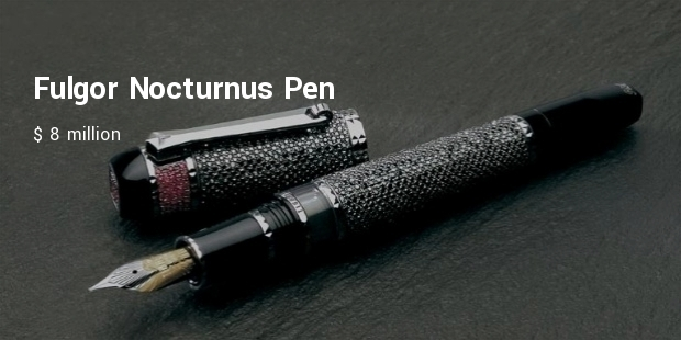 Most Expensive Writing Instruments