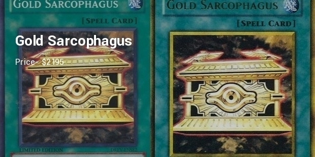 Most Expensive Yu-Gi-Oh Cards