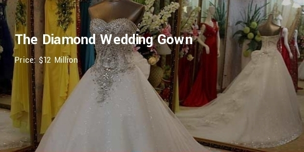 Most Expensive Wedding Dresses in Britain