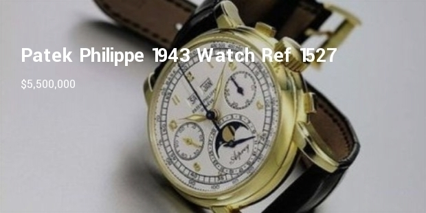Most Expensive Vintage Watches