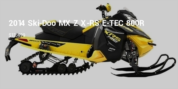 Most Expensive Snowmobiles