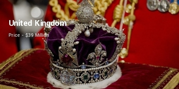 Most Expensive Crown Jewelry