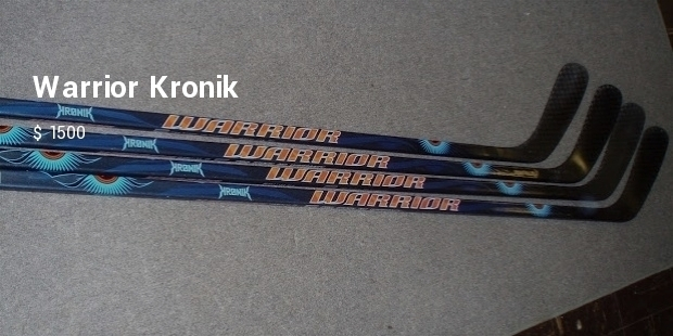 10 Most Expensive Hockey Sticks