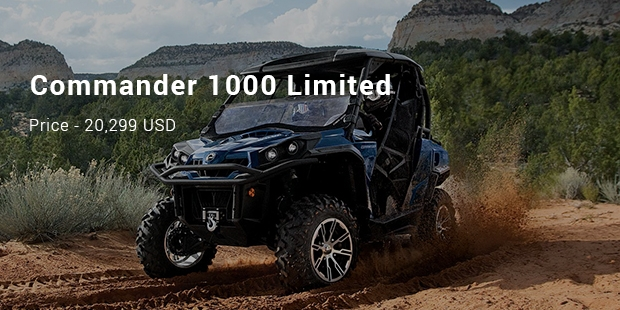 Most expensive ATVs and UTVs