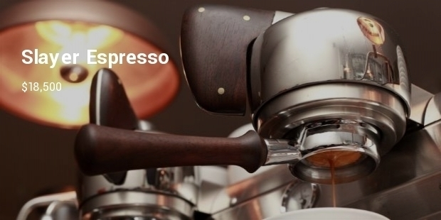 The Most Expensive Sleek Espresso Machines