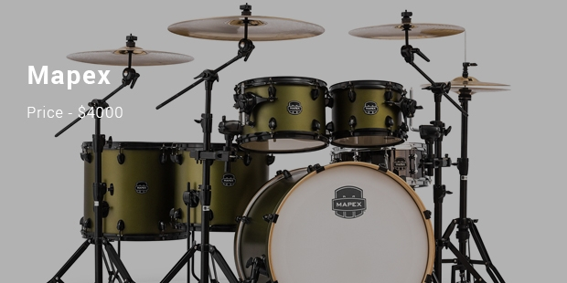 Most Expensive Drum Sets