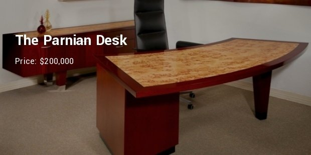 costs world parnian worlds decor thumb desk s expensive most by