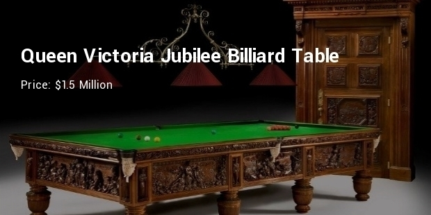 8 Most Expensive Priced Pool Tables List Expensive Tables